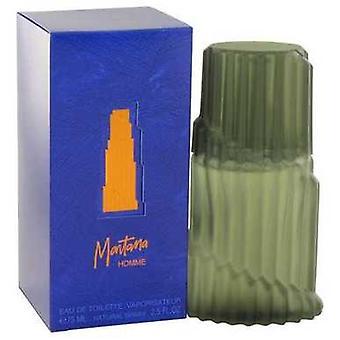 Montana By Montana Eau De Toilette Spray (blue Original Box) 2.5 Oz (men) V728-418691