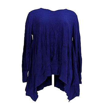 Joan Rivers Classics Collection Women's Sweater Swing Style Purple A342261