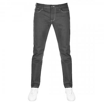 Emporio Armani J06 Slim Fit Grey Denim Jeans 8N1J06 1DLPZ