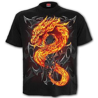 Spiral Fire Dragon T-Shirt
