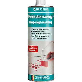 HOTREGA® Feinsteinzeug-Imprägnierung, 1 Liter Dose