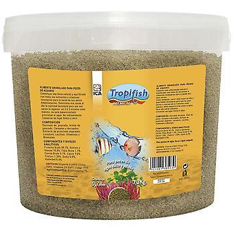 TropiFish Granulado 07 Mm 33 Kg (Fish , Food , Warm Water)