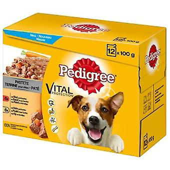 Pedigree Paté Vital Protection Buey y Pollo 12x100gr (Dogs , Dog Food , Wet Food)