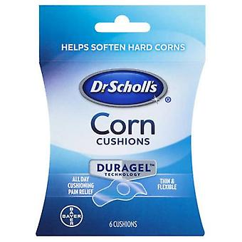 Dr. scholl's corn cushions, duragel technology, 6 ea