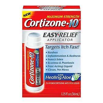 Cortizone 10 Hydrocortison Anti-Itch Flüssigkeit, 1,25 oz