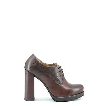Made in Italia Original Women Fall/Winter Lace Up - Brown Color 28941