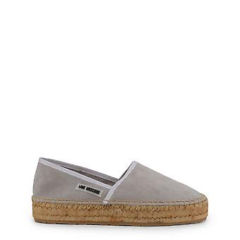 Love Moschino Original Women Spring/Summer Slip-on - Grey Color 34627