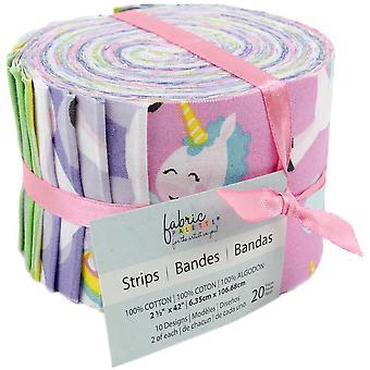 """Fabric Palette Jellies 2.5""""X42"""" 20/Pkg-Starla Sparkle 5 Designs/1 Each"""