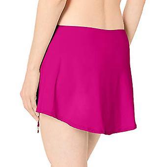 آن كول المرأة & أبوس؛s الصلبة قابل للتعديل سارونج تنورة السباحة، وردي جديد، حجم X-Large