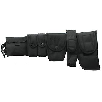 Viper Security Belt System with Pouches Black