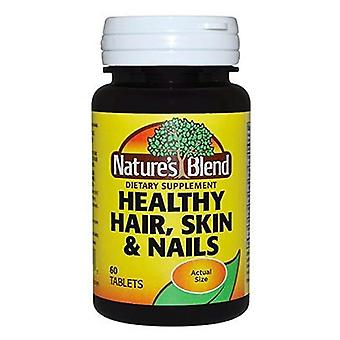 Nature's blend healthy hair, skin & nails, tablets, 60 ea