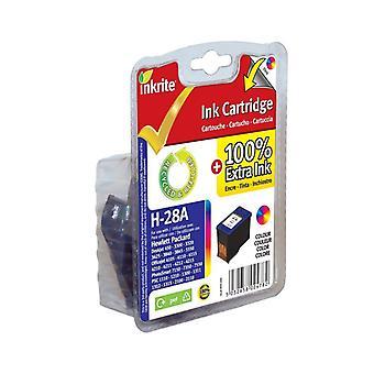 Inkrite NG Ink Cartridges (HP 28) for HP DeskJet 450 3320 5550 Officejet 4105 6110 - C8728A Clr