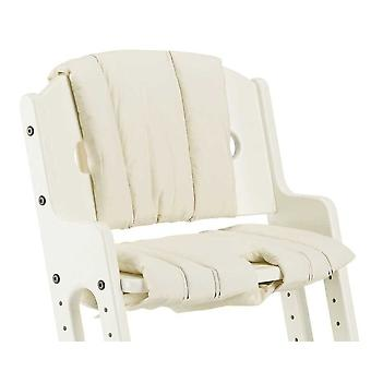 Babydan kys Dan høj stol hvid