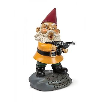 BigMouth Inc. Angry Little Garden Gnome