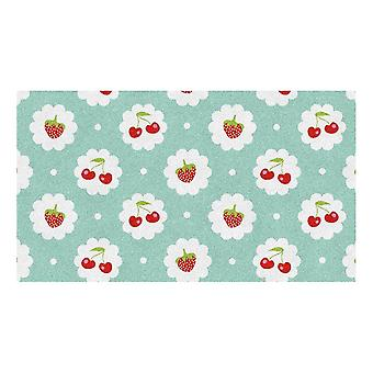 Kids Rug - Rood Fruit - Wasbaar - 65 x 115 cm