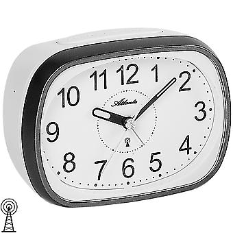 Atlanta 1793/4 alarm clock radio alarm clock grey white light Snooze