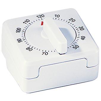 Atlanta 283 Krótki nóż czasowy Mechaniczny Biały Krótki Czas Kawałek Kuchenny Timer