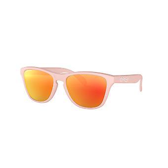 Oakley Frogskins XS OJ9006 02 Matte Pink/Prizm Ruby Sunglasses