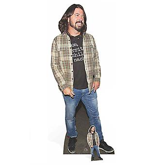 Dave Grohl from Foo Fighters Lifesize Cardboard Cutout / Standee / Stand Up