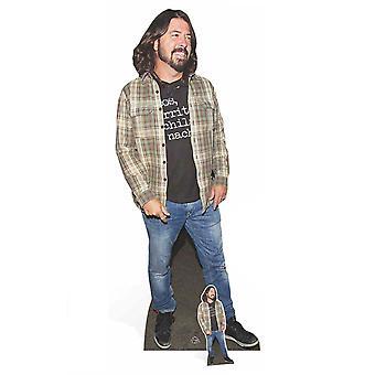 Dave Grohl Foo Fighters Lifesize pahvi automaattikatkaisin / seisoja / Stand Up