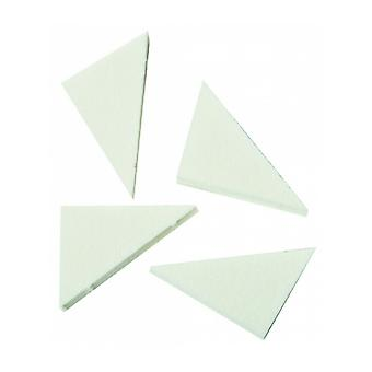 Hive Of Beauty Salon Essentials Latex Make Up Wedges - Pack Of 8