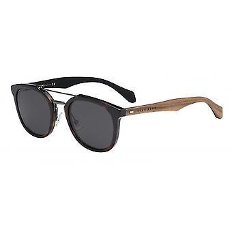 Sunglasses 0777/Srah/Y1 Men's Brown/Grey