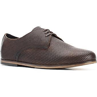 Base london men's senna emboss lace up shoe various colours
