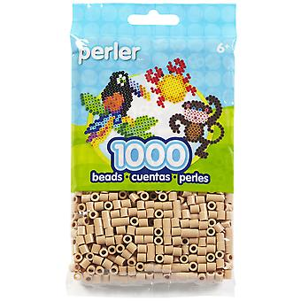 Perler Beads 1,000/Pkg-Tan