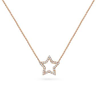 Colar Hollywood Star 18K Ouro e Diamantes