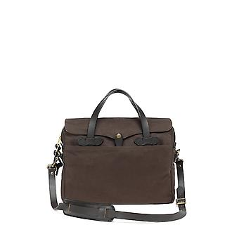 Brooks Brothers Men's Leather Briefcase