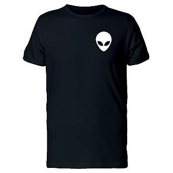 Upperside Alien tête Tee homme-Image de Shutterstock