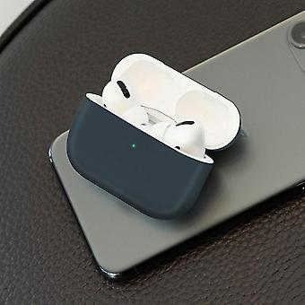 Full Body AirPods Pro tok fedél Szilikon Soft-touch Qi Wireless-Antracit szürke