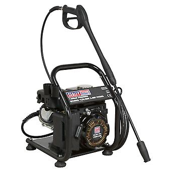 Sealey Pwm1300 Pressure Washer 130Bar 7Ltr/Min 2.4Hp Petrol