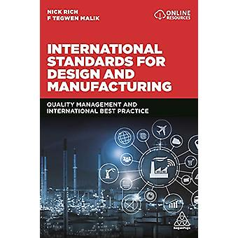 International Standards for Design and Manufacturing - Quality Managem