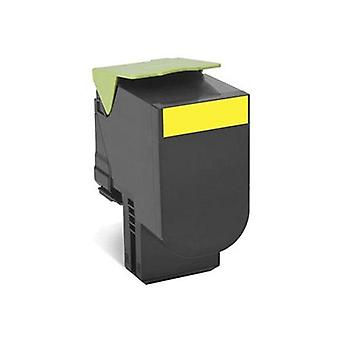 Lexmark 808Y Yellow Return Toner Cartridge