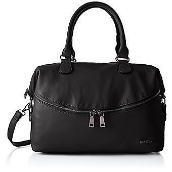 Boscha Zip Bag - Donna Schwarz folder (Black) 15x24x35 cm (L x H D)