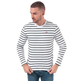 Men's Levis Classic House Mark T-Shirt in Bianco