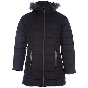 Girl's Harvey and Jones Junior Chloe Padded Jacket in Black