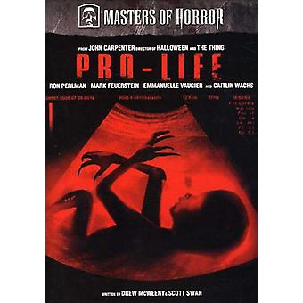 Masters of Horror - Pro-Life [DVD] USA import