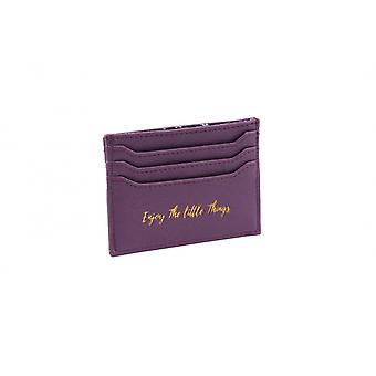 CGB подарочные изделия из ивы и Роуз пользуются небольшие вещи фиолетовый карты держатель бумажника