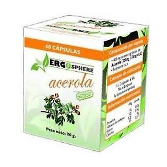 Acerola Ergosphere 40 capsules