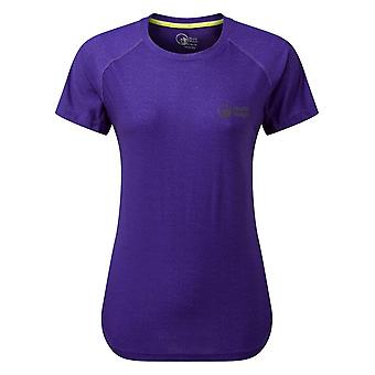 North Ridge Women's Synergy Short Sleeve Top Purple