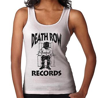 Death Row Records stoel Logo Black Women's Vest