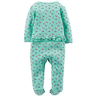 Jednoduché Radosť carter's Baby Girls' 2-Pack Bavlna Footed Sleep and Play, Ružová...