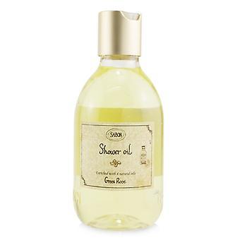 Aceite de Ducha - Rosa Verde (botella de plástico) - 300ml/10.5oz