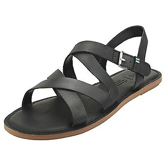 Toms Sicily Womens Fashion Sandals in Black