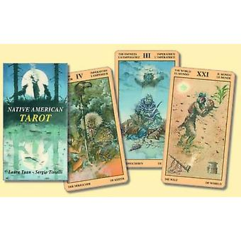 Native American Tarot by Laura Tuan & Illustrated by Sergio Tisselli