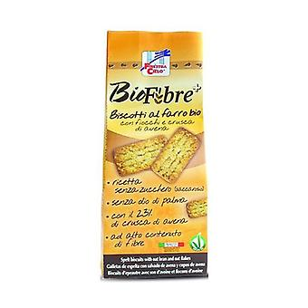 Biofibre + Spelled Cookies with Flakes and Oat Bran 250 g