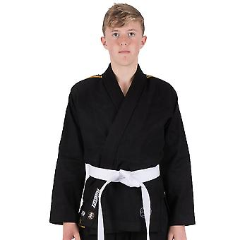Tatami Fightwear Nova absoluto Kids Jiu-Jitsu Gi preto