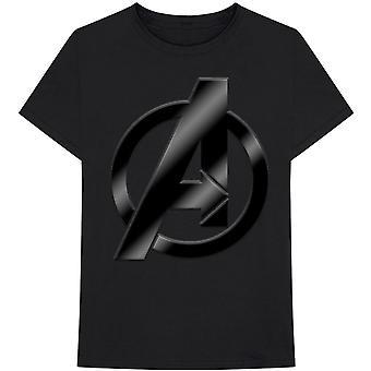 Marvel Comics Avengers Logo Officiële T-shirt Mens Unisex